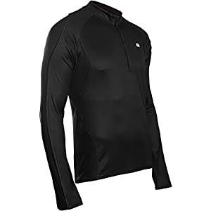 Sugoi Men's Neo Long Sleeve Cycling Jersey - Black, Small
