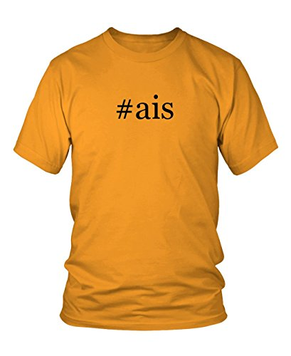 ais-hashtag-mens-adult-short-sleeve-t-shirt-gold-xxx-large