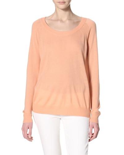 Qi Cashmere Women's Calina Sweatshirt