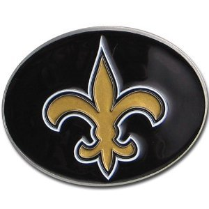 New Orleans Saints NFL Team Logo Belt Buckle