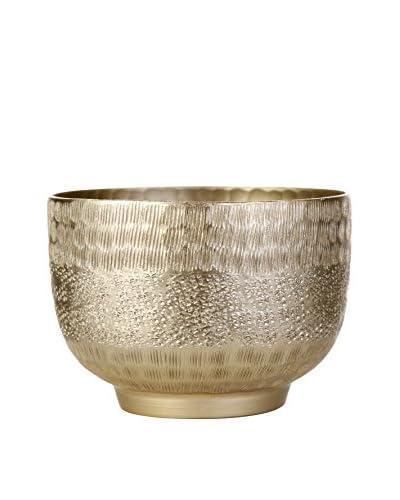 Lene Bjerre Abigine Large Light-Gold Bowl