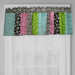 Peace Sign Valance front-999689
