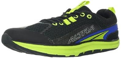 Altra Men's Torin Running Shoe,Black/Green,8 D US
