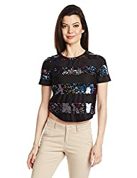 Only Womens Body Blouse Shirt (15096848_ Black_ S)