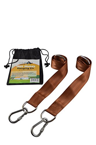 EASY-HANG-SWING-STRAPS-BROWN-2-Straps-Safety-Screw-Lock-Carabiners-Safe-Fast-Easy-Installation-by-Pendulum-Swing-Co-Satisfaction-Guaranteed