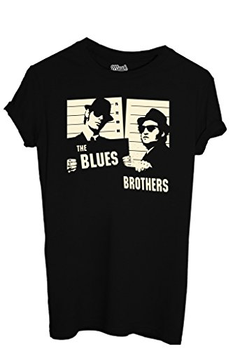 T-SHIRT THE BLUES BROTHERS - FILM by MUSH Dress Your Style Uomo-L