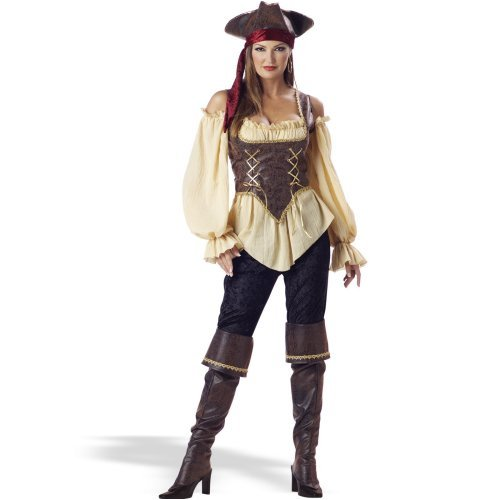 Rustic Pirate Lady Elite Adult Collection Costume Halloween