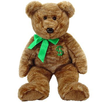 TY Beanie Buddy - BILLIONAIRE the Bear