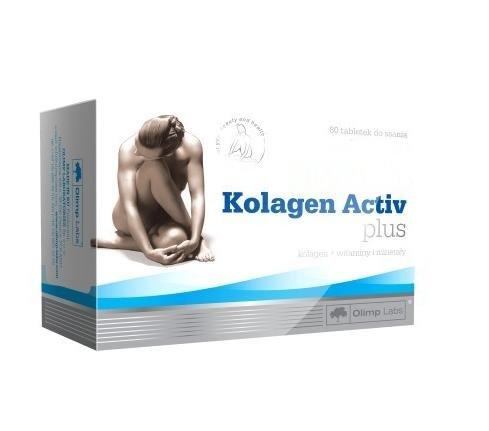 Kolagen Active Plus 80 caps -- Collagen Supplement that protects joints, bones & skin