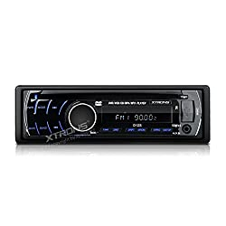 See XTRONS? In-dash 1 Din Single DIN Car Stereo Detachable Panel CD/MP3 DVD Player Supporting FM radio receiver/AUX input/USB and SD card Details