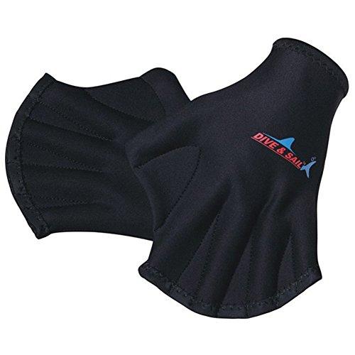 Aogolouk 1 Paar Schwimmen Finger Vernetzt Handschuhe Tauchhandschuhe aus Neopren für Erwachsene