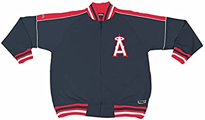 MLB Los Angeles Angels Contrast Shoulder Track Jacket