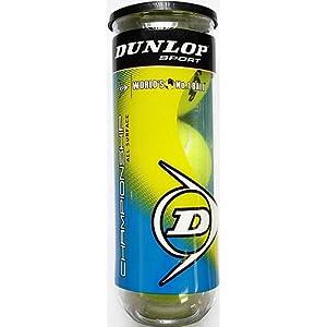 Buy Dunlop Championship All Court Regular Duty Tennis Balls (Can) by Dunlop