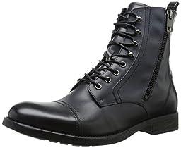 Diesel Men\'s Serberhus D-Kallien Winter Boot, Black, 7.5 M US