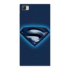 Ajay Enterprises Dayer Super Blue Back Case Cover for Xiaomi Mi3