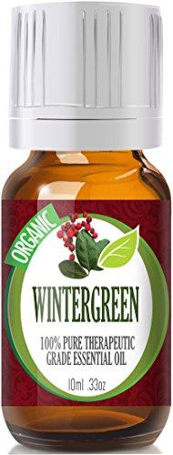 Wintergreen (Organic) 100% Pure, Best Therapeutic Grade Essential Oil - 10Ml