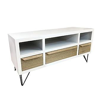 Mueble tv madera de haya