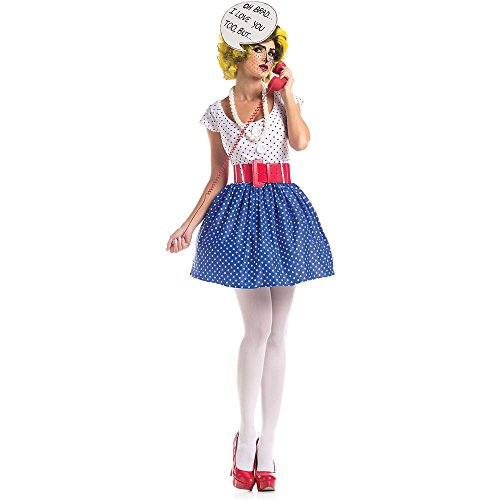 Pop Art Cutie Adult Costume