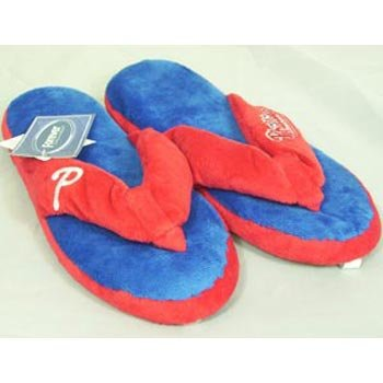 Philadelphia Phillies MLB Flip Flop Thong Slippers - Size 14 at Amazon.com