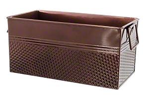 American Metalcraft BEVC1266 Rectangular Beverage Tub, Third Size, Copper