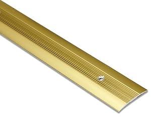 Threshold Carpet Door Plate Brass Effect Door Bar 3ft Length