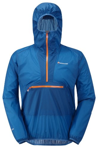 Montane Mens Minimus Smock, Electric Blue, Large