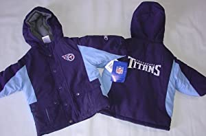 NFL Tennessee Titans Kids Parka Jacket, 18M by Reebok