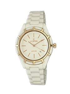 Le Chateau Women's 5869lrse_wht Classico Ceramic Watch