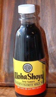Aloha Soy Sauce Shoyu 6 Bottles