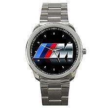 buy Mgh038 New Rare!! Design Bmw M Style Logo Emblem Sport Metal Watch