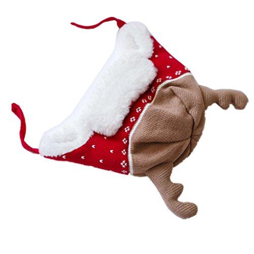 Home prefer baby girl boy kid christmas hats soft cotton for Home prefer hats