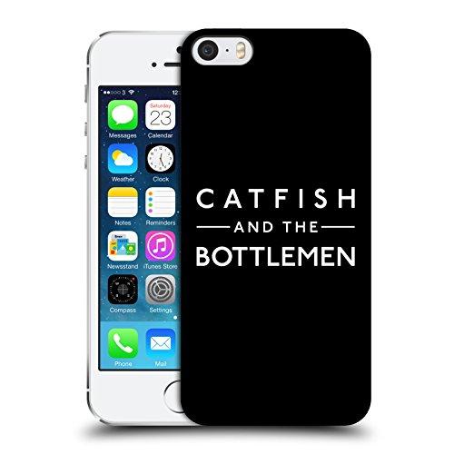 Ufficiale Catfish And The Bottlemen Logo Arte Chiave Cover Retro Rigida per Apple iPhone 5 / 5s / SE