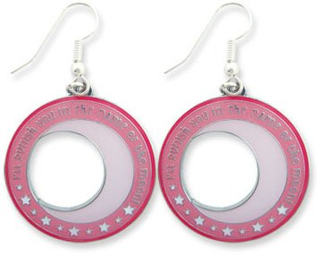 Sailor Moon Sailor Moon Symbol Earrings - 1