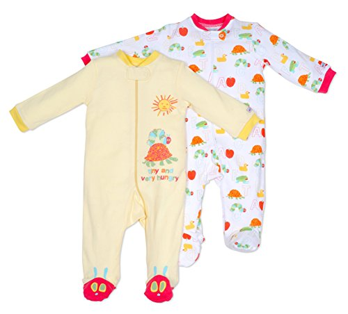 the-very-hungry-caterpillar-100-cotton-two-pack-sleep-play-hugsie-3-6-mo-unisex-neutral