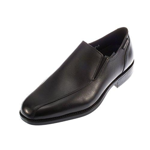 Mephisto Cirano Pelle Uomo Slip on scarpe mocassino (C1659), nero (Black), 41.5