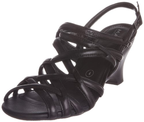 Marc Women's Mara 1.457.01-18 100 Black Open Toe Black 9146100 6 UK