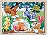 12 Pc Playful Pets Jigsaw Puzzle - (Child)