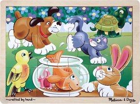 Cheap Pcs Group 12 Pc Playful Pets Jigsaw Puzzle – (Child) (B0039D30AM)