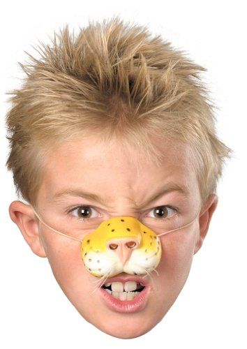 Cute little Tiger nose to liven up any party or jungle animal costume!