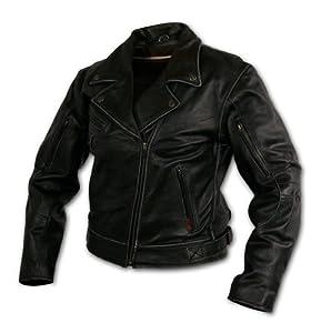 Milwaukee Motorcycle Clothing Company Rangerette Black Leather Women's Jacket by Milwaukee Motorcycle Clothing Company