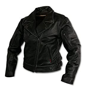 Milwaukee Motorcycle Clothing Company Rangerette Leather Women's Jacket (Black, Medium)