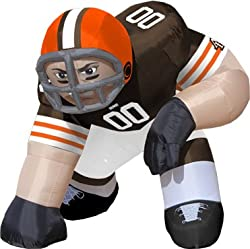 Huge 5' NFL Cleveland Browns Lineman Inflatable Outdoor Yard Decoration