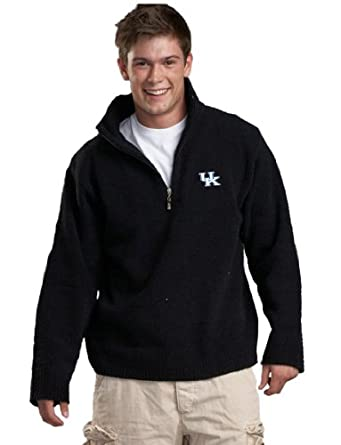 NCAA University of Kentucky Kashwere U Unisex Half Zip Pullover (Black, X-Large... by Kashwere U