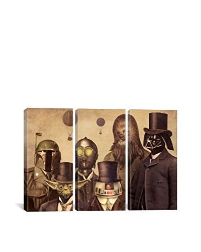 Terry Fan Victorian Wars #2 Gallery Wrapped Canvas Print, Triptych