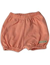 Mak the Yak - Baby Girls Shorts, Coral Pink 27367-0-3Months