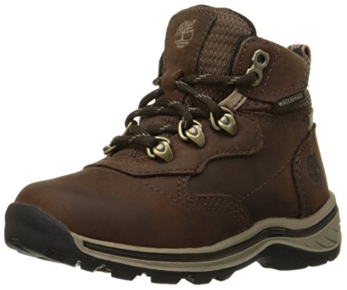 [Timberland White Ledge Waterproof Hiker (Toddler/Little Kid/Big Kid),Brown/Brown,12.5 M US Little] (Next Kids Boots)