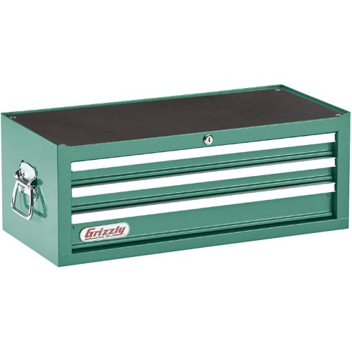 Grizzly H0837 3 Drawer Middle Chest with Ball Bearing SlidesB0000DD1MS : image