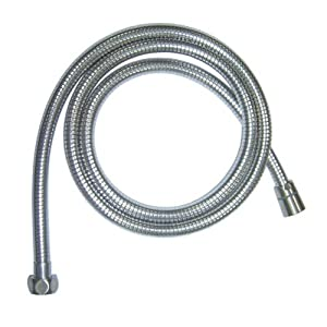 Aqua Source 7' Metal Faucet Spray Hose Item# 0011115 Model # A105733NP UPC# 019934034750