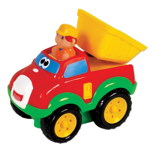 Small World Toys Preschool - Press 'N' Go Dump Truck - 1