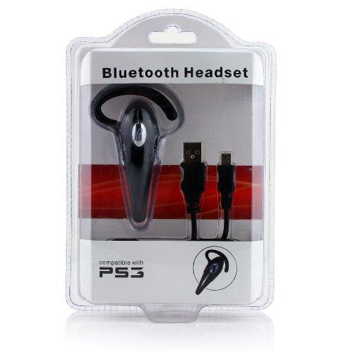 Ps3 Neutral Bluetooth Headset Black